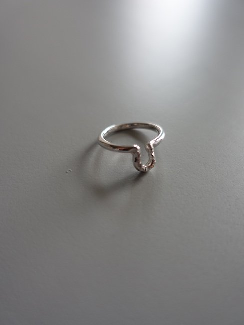 MELLOW-FRIL RING/SILVER