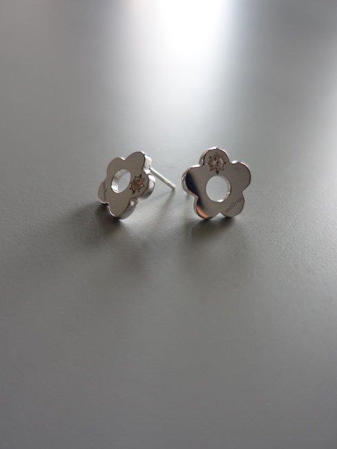 MELLOW-FLOWER PIERCE/SILVER