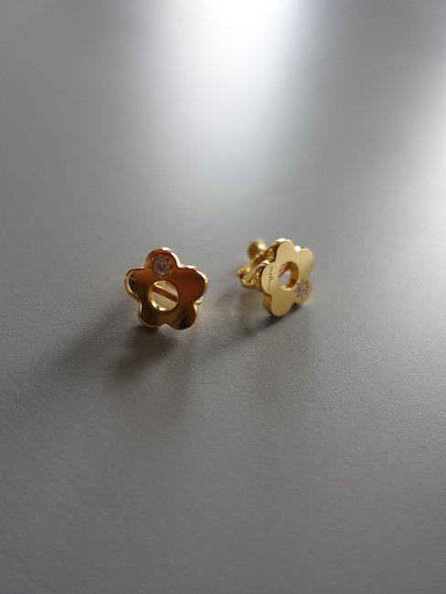 MELLOW-FLOWER PIERCE/GOLD