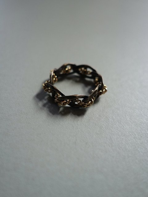 D'HEYGERE-BRAIDED RING / GOLD