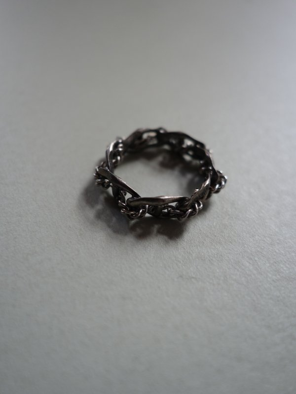 D'HEYGERE-BRAIDED RING / SILVER