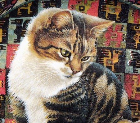 ダンバリーミント/Danbury mint Cats Around the World ペルー/Peru キャットプレートの写真No.2