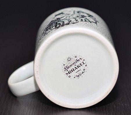 【今だけ価格】ニモーレ/NYMOLLE ビョルン・ヴィンブラッド/Bjorn Wiinblad マンスリーマグカップ 12月(ブラック/黒)の写真No.3