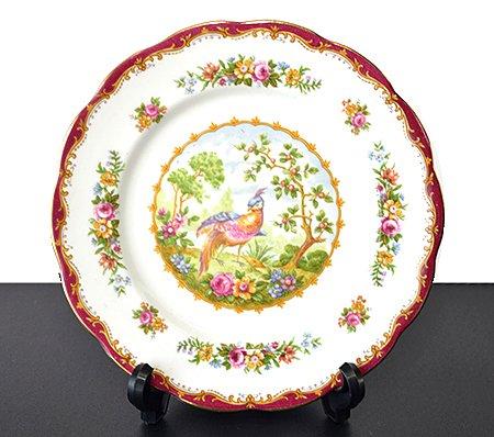 ロイヤルアルバート/Royal Albert チェルシーバード/Chelsea Bird プレート 20cmの写真