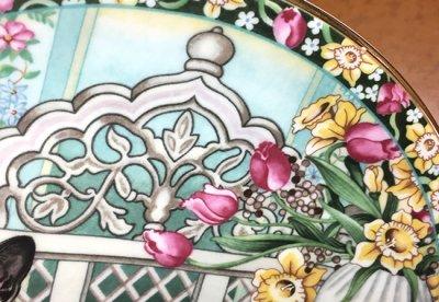 ◇エインズレイ/Aynsley The Four Seasons 春/Spring キャットプレートの写真No.3