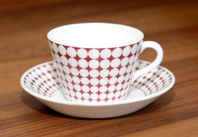 【送料無料】グスタフスベリ/Gustavsberg エヴァ/Eva コーヒーカップ&ソーサー【入手困難品】の写真