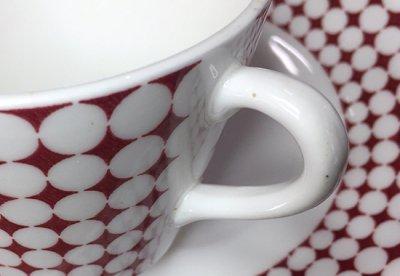 【送料無料】グスタフスベリ/Gustavsberg エヴァ/Eva コーヒーカップ&ソーサー【入手困難品】の写真No.4