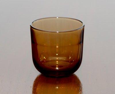 【セール】ヌータヤルヴィ/Nuutajarvi ファセッティ/Fasetti アンバー/Amber ショットグラス 50ml