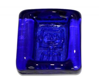 ◇ボダ/Boda Erik Hoglund ロボット/Robot コバルトブルー/Cobalt Blue アッシュトレイ 8cmの写真No.2