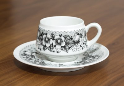 アラビア/ARABIA タルヴィッキ/Talvikki コーヒーカップ&ソーサー【複数在庫】の写真