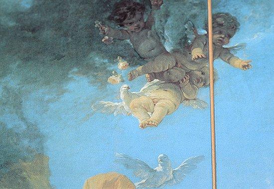 【送料無料】【一点物】フランソワ・ブーシェ/Francois Boucher 陶板画 アイネイアスのために造った武器をウェヌスへ贈るウルカヌスの写真No.5