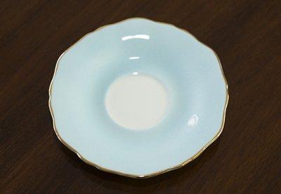 ◇クラウンスタッフォードシャー/Crown Staffordshire フローラル スカイブルー コーヒーカップ&ソーサーの写真No.4