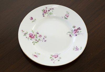 ◇クラウンスタッフォードシャー/Crown Staffordshire ピンクローズ/Pink Rose コーヒーカップ&ソーサー&プレート 3点セット(トリオ)の写真No.7