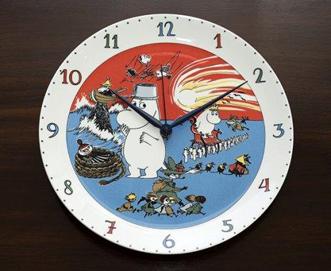 【廃盤ムーミン】【送料無料】【レア】アラビア/ARABIA ムーミン/Moomin 壁掛け時計/Wall Clock 2003-200…