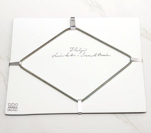 【送料無料】【美品】ARABIA アラビア ヘルヤ 25cm 陶板画 2000年天国の門 雑貨の写真No.4