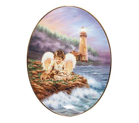 【美品】ドナ・ゲルシンガー/Dona Gelsinger 天使の光/An Angel's Light 優しさは魂を啓発する エンジェルプレートの写真
