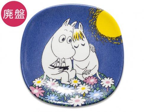 【廃盤ムーミン】【送料無料】【美品】アラビア/ARABIA ムーミン/Moomin ウォールプレート 月光/Moonshine 1991-200…