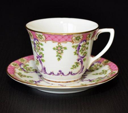ロイヤルウースター/Royal Worcester クラッドリー/Cradley コーヒーカップ&ソーサー A1865の写真No.2