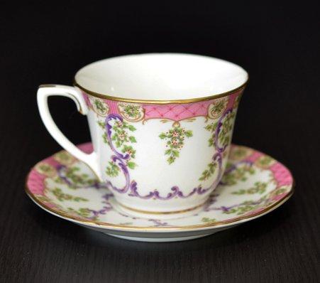 ロイヤルウースター/Royal Worcester クラッドリー/Cradley コーヒーカップ&ソーサー A1865の写真No.3