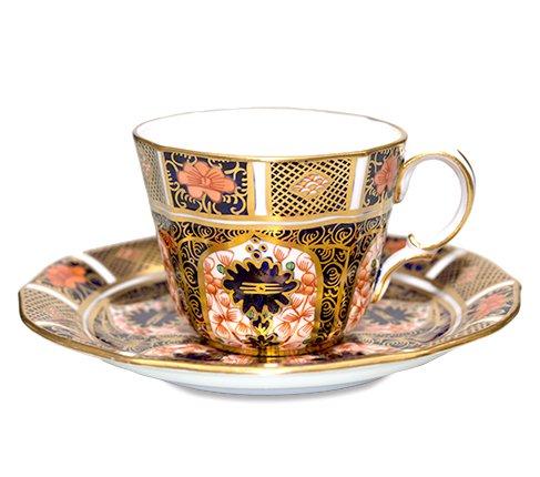 【セール】【送料無料】ロイヤルクラウンダービー オールドイマリ(ジャパン) コーヒーカップ&ソーサー No.1128 Royal Crown Der…