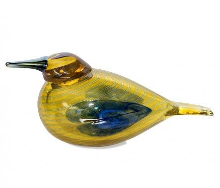 ◇イッタラ Oiva Toikka アニュアルバード 2004年 スズガモ Blue Scaup Duck iittalaの写真