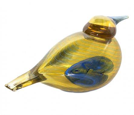 ◇イッタラ Oiva Toikka アニュアルバード 2004年 スズガモ Blue Scaup Duck iittalaの写真No.3