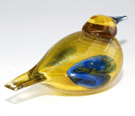 ◇イッタラ Oiva Toikka アニュアルバード 2004年 スズガモ Blue Scaup Duck iittalaの写真No.4