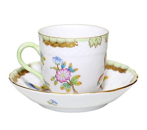【送料無料】 【美品】ヘレンド ヴィクトリア VBO デミタスカップ&ソーサーの写真No.2