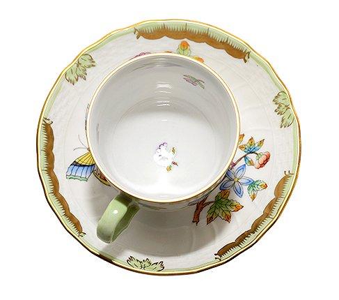 【送料無料】 【美品】ヘレンド ヴィクトリア VBO デミタスカップ&ソーサーの写真No.4