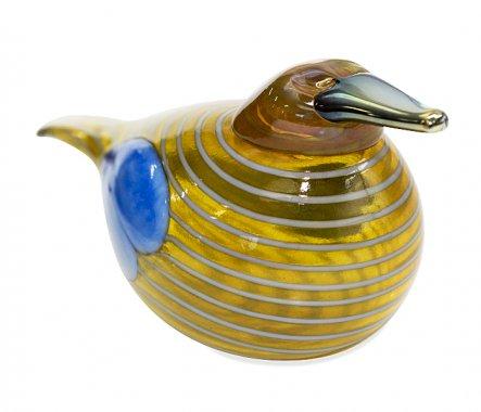 ◇イッタラ Oiva Toikka アニュアルバード 2004年 スズガモ Blue Scaup Duck iittalaの写真No.2