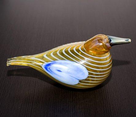 ◇イッタラ Oiva Toikka アニュアルバード 2004年 スズガモ Blue Scaup Duck iittalaの写真No.6