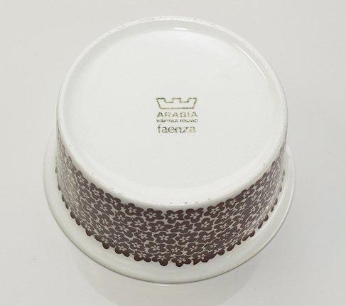 【セール】ARABIA アラビア ファエンツァシュガーボウル/キャンディー アラビア 食器の写真No.4