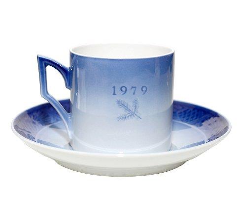 ROYAL COPENHAGEN ロイヤルコペンハーゲン イヤーカップ&ソーサー 1979年 コーヒーカップ &ソーサーの写真No.2