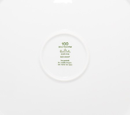 ローゼンタール/Rosenthal アイスブルーム/Eisblume プレート 31cmの写真No.2