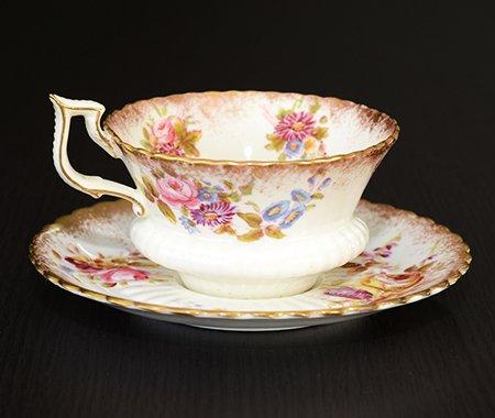 ハマースレイ ハンドペイント コーヒーカップ&ソーサー Hammersleyの写真No.3