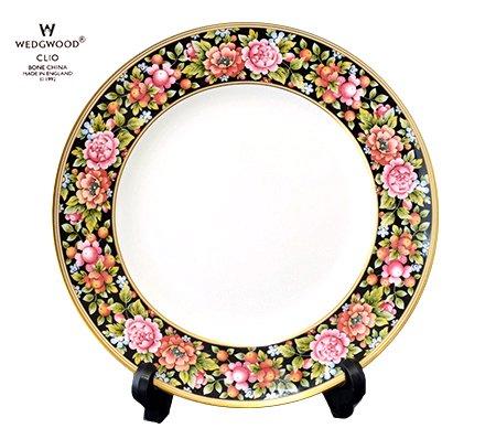 WEDGWODD ウェッジウッド クリオ プレート 中皿 21cm  ウエッジウッド 廃盤 ブランド食器 アンティーク食器usedの写真