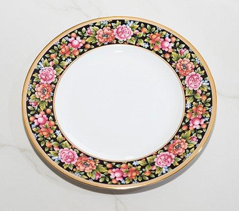 WEDGWODD ウェッジウッド クリオ プレート 中皿 21cm  ウエッジウッド 廃盤 ブランド食器 アンティーク食器usedの写真No.2