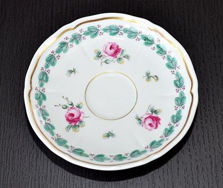 ◇リチャードジノリ ガーデンローズ デミタスカップ&ソーサー Garden roseの写真No.3
