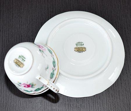 ◇リチャードジノリ ガーデンローズ デミタスカップ&ソーサー Garden roseの写真No.4