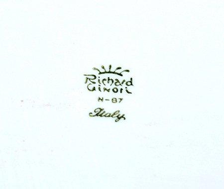 【送料無料】リチャードジノリ ガーデンローズ スクエアトレイ 33cm Garden roseの写真No.3