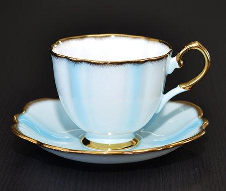 エリザベサン 1960年代 コーヒーカップ&ソーサー Elizabethanの写真