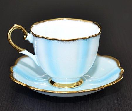 エリザベサン 1960年代 コーヒーカップ&ソーサー Elizabethanの写真No.2