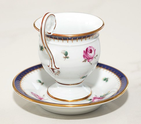 【送料無料】リチャードジノリ プリンセスローズ チョコレートカップ&ソーサー Princess Roseの写真No.5