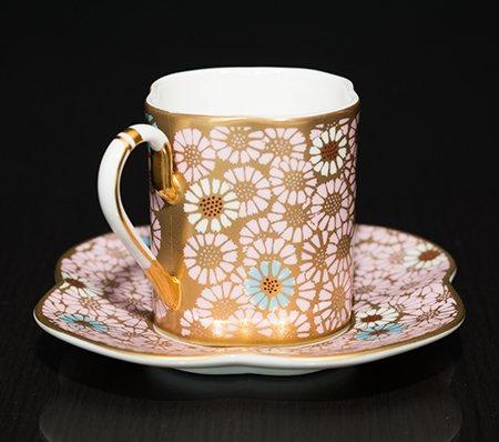 ウェッジウッド ハーレクイン・コレクション スカラップ・デイジー カップ&ソーサー Scallop Daisyの写真No.3