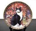 ダンバリーミント Cats Around the World 中国 キャットプレート