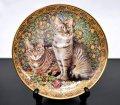 ダンバリーミント Cats Around the World イギリス キャットプレート