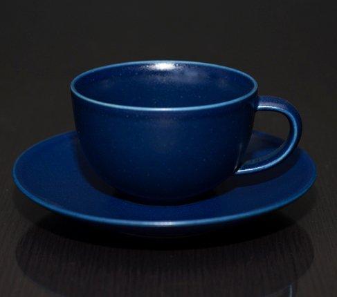 アラビア 24h ブルー ティーカップ&ソーサーの写真No.2