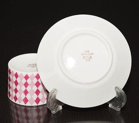 ARABIA アラビア レボントゥリ デミタスカップ &ソーサー finland ブランド食器・アラビア 食器の写真No.5