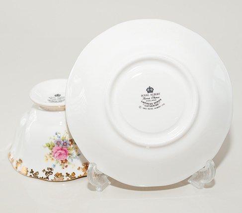 【今だけ価格】ロイヤルアルバート エンプレス キャサリン ティーカップ&ソーサー Empressの写真No.6