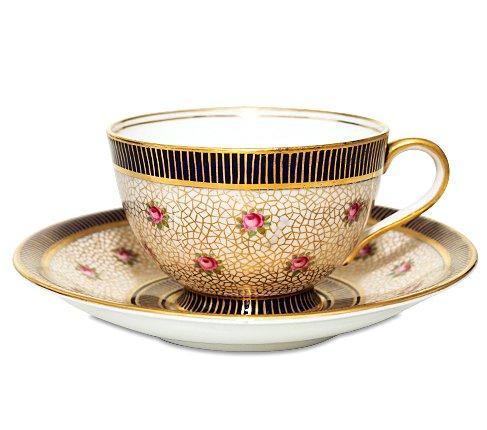 エインズレイ 1940-1960年代 ピンクローズ コーヒーカップ&ソーサー Aynsleyの写真